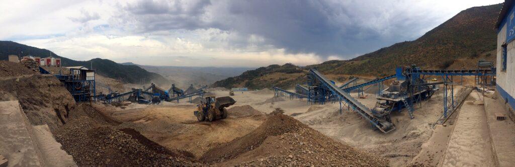kaevanduse õhusaaste pilt
